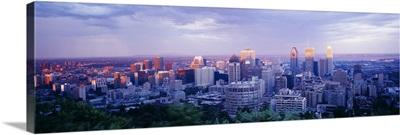Dusk Montreal Quebec Canada