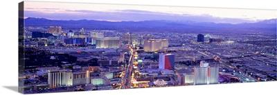 Dusk The Strip Las Vegas NV