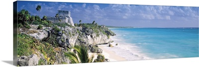 El Castillo Quintana Roo Caribbean Sea Tulum Mexico