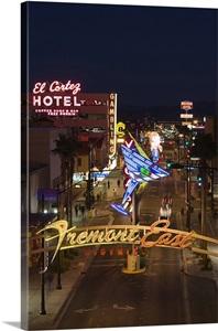 El Cortez Fremont Street The Strip Las Vegas Nevada