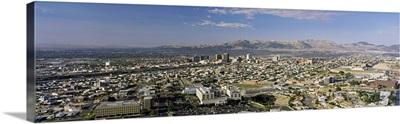 El Paso skyline TX USA