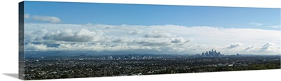Elevated view of the city, Mid-Wilshire, Los Angeles, California