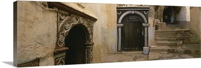 Entrance of a building, Casaba, Algiers, Algeria