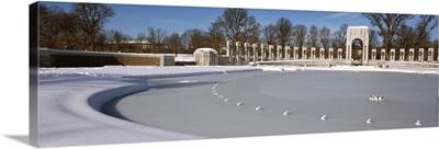 Entrance of a memorial, National World War II Memorial, Washington DC