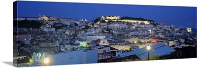Evening Lisbon Portugal