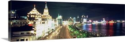 Evening Shanghai Bund China