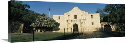 Facade of a building, Alamo, San Antonio Missions National Historical Park, San Antonio, Texas