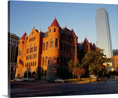 Facade of a building, Dallas, Texas