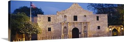 Facade of a church, Alamo, San Antonio, Texas