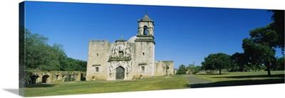 Facade of a church, Mission San Jose, San Antonio Missions National Historical Park, San Antonio, Texas
