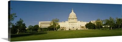 Facade of a government building, Capitol Building, Washington DC