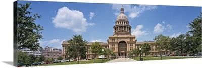 Facade of a government building, Texas State Capitol, Austin, Texas