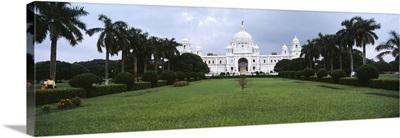Facade of a palace, Victoria Memorial, Calcutta, West Bengal, India