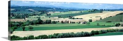 Farmland Tuscany Italy