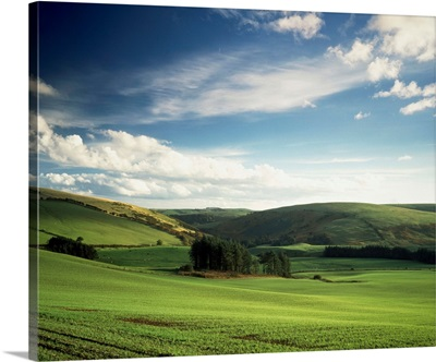 Field Shropshire England