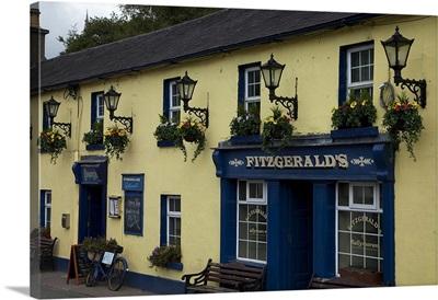 Fitzgeralds Bar in Avoca Village, A.K.A. Ballykissangel, County Wicklow, Ireland