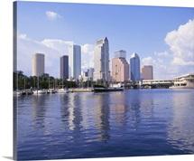 Florida, Tampa, Office buildings in Tampa