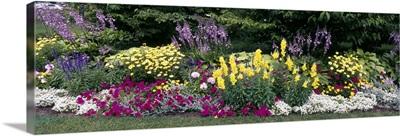 Flowering Border Niagara Parks Botanical Gardens Ontario Canada