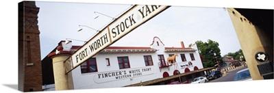 Ft Worth Stock Yard Ft Worth TX