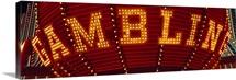 Gambling Sign Las Vegas NV