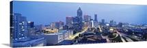 Georgia, Atlanta, Evening in Atlanta