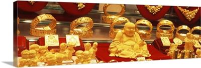 Goldsmith Shop Window Hong Kong