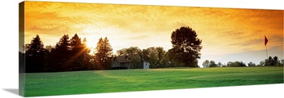 Golf Course Delaware Co NY