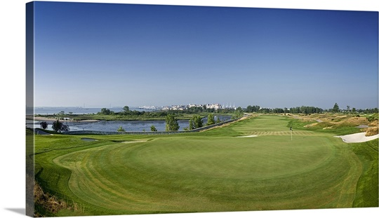 Golf course, Liberty National Golf Course, Jersey City, New Jersey ...