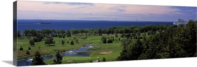 Golf course, Mackinac Island, Michigan