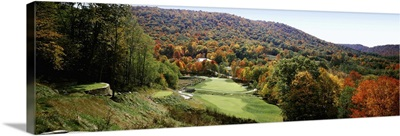Golf course on a hill, Hawthorne Valley Golf Course, Hawthorne Valley, Salon, Ohio