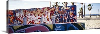 Graffiti Venice Beach CA