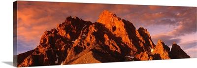 Grand Teton Peak Grand Teton National Park WY