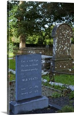 Gravestone of William Butler Yeats, Drumcliffe Parish Church, County Sligo, Ireland