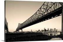 Greater New Orleans Bridge, Mississippi River, New Orleans, Louisiana