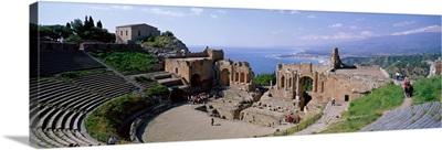 Greek Theater Taormina Sicily Italy