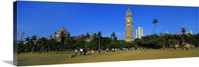 Group of people in the field, Oval Maidan, Mumbai, Maharashtra, India