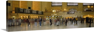 Group of people walking in a station, Grand Central Station, Manhattan, New York City, New York State
