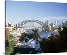 Harbor Tunnel Bridge Sydney Australia