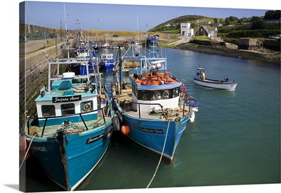 Helvick Harbour, Ring Gaeltacht Region, County Waterford, Ireland