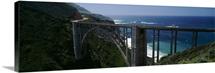 High angle view of a bridge, Bixby Bridge, Big Sur, California
