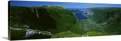 High Angle View Of A Plateau, Gros Morne National Park, Newfoundland And Labrador, Canada