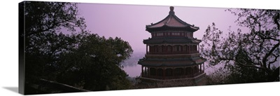High section view of a palace, Summer Palace, Beijing, China