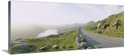 Highway on a hillside, County Kerry, Republic of Ireland