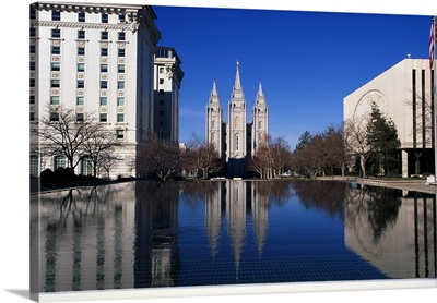 Historic Temple Square Salt Lake City UT