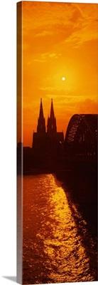 Hohenzollern Bridge Cologne Germany