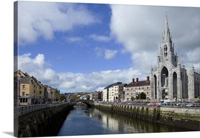 Holy Trinity Church and the River Lee, Cork City, Ireland