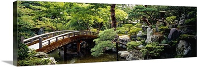 Imperial Palace Gardens Kyoto Japan