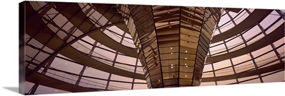 Interior Reichstag Berlin Germany