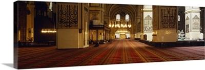 Interior Ulu Mosque Bursa Turkey