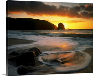 Isle Of Lewis Outer Hebrides Scotland Wall Art Canvas